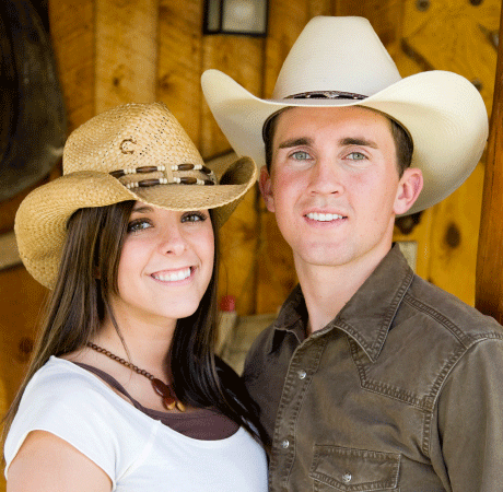 information about ranchers and cowboys dating